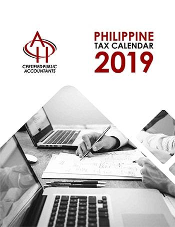 Philippine Tax Calendar