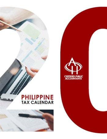 Philippine Tax Calendar 2020-min