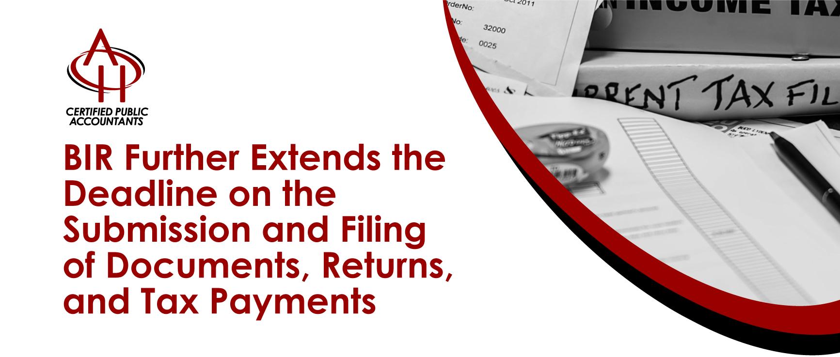 BIR Tax Payments