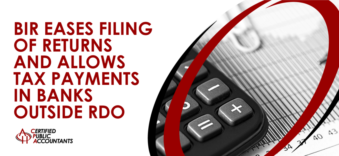 BIR Filing Tax Payments