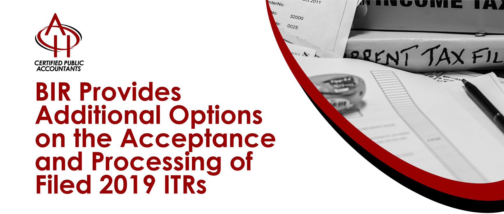 BIR 2019 Filed ITRs