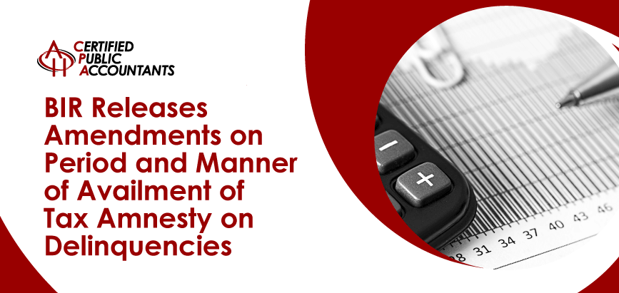 BIR Tax Amnesty on Delinquencies