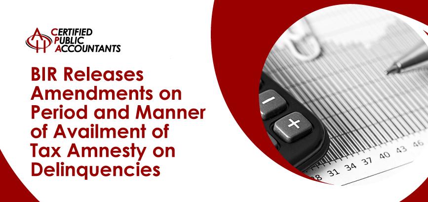 BIR Tax Amnesty on Delinquencies
