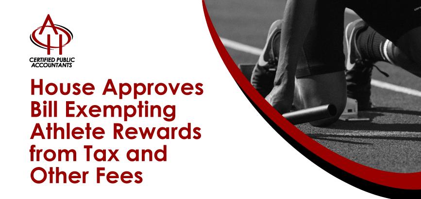 Athlete Rewards Tax