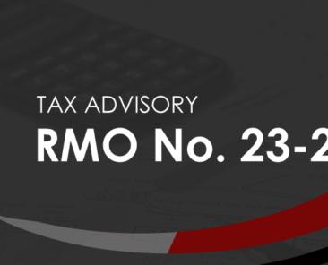 BIR RMO No. 23-2021